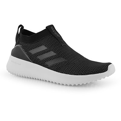 Lds Ultimafusion blk/blk slip on runner
