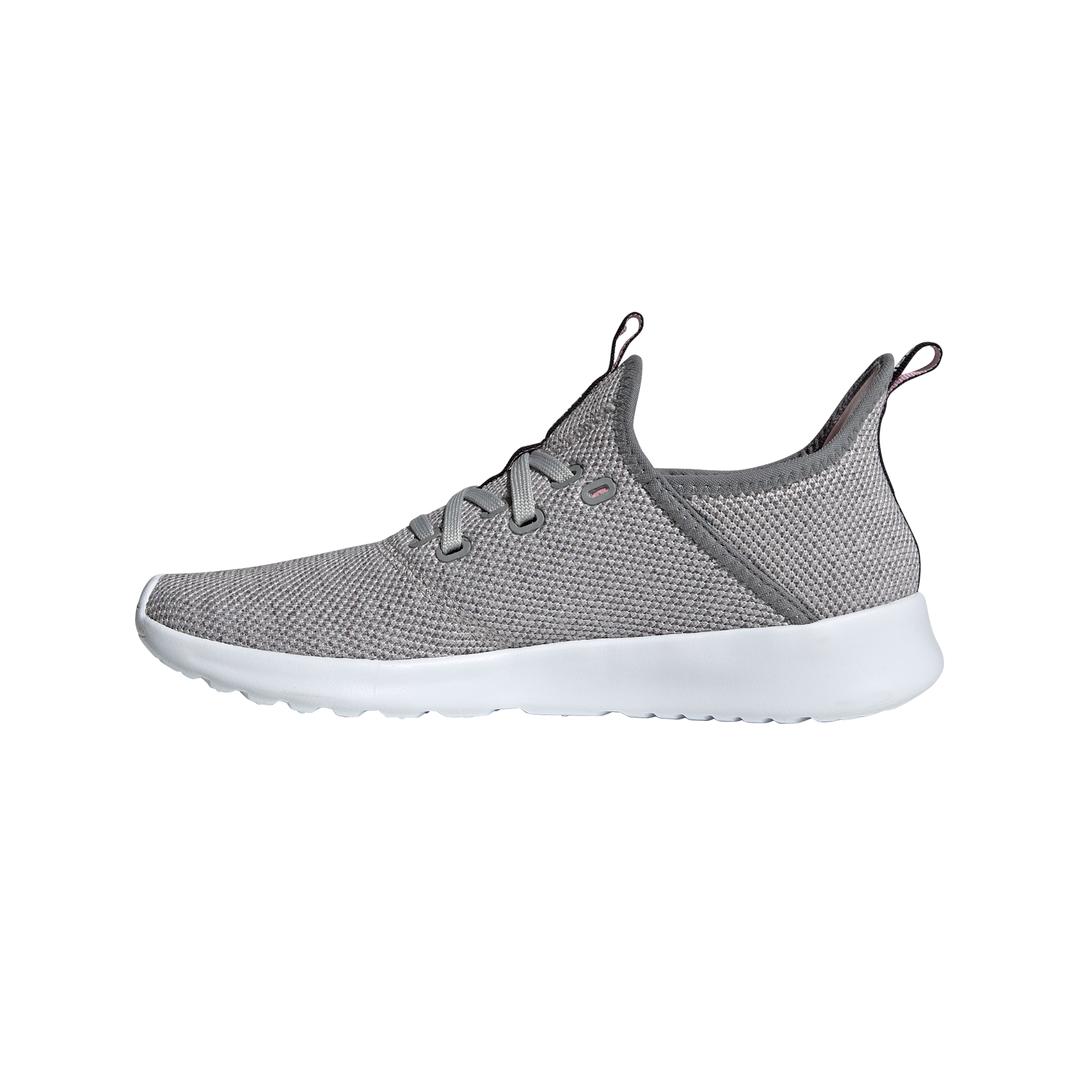 Lds Cloudfoam Pure gry/pnk running shoe