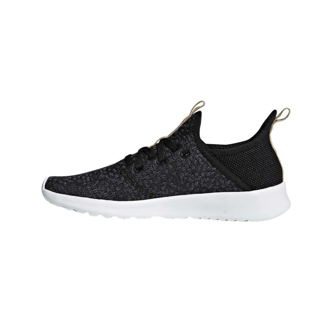 Lds Cloudfoam Pure blk/gry running shoe