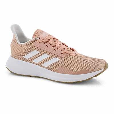 Lds Duramo 9 pnk/wht running shoe