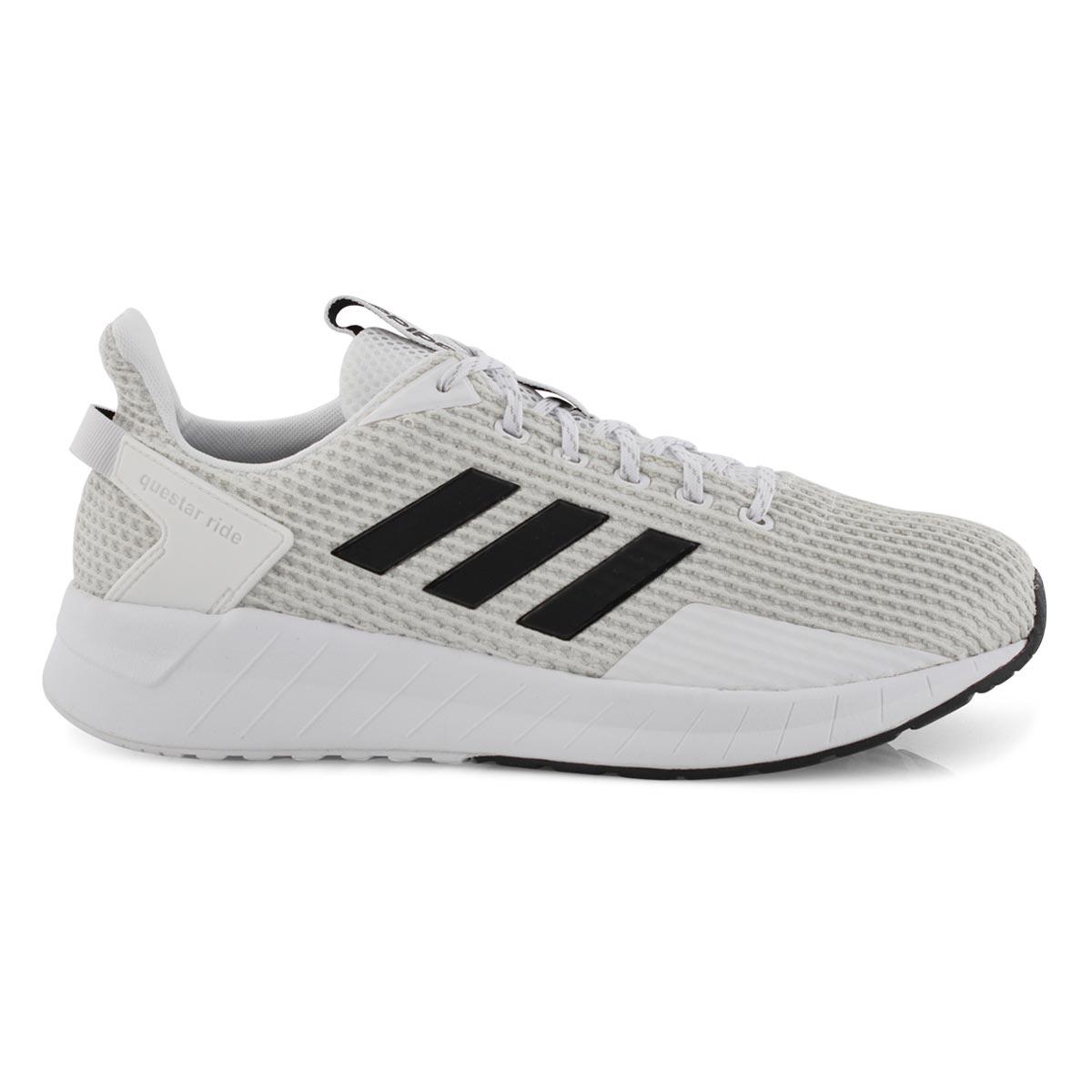 Mns Questar Ride wht/blk running shoe