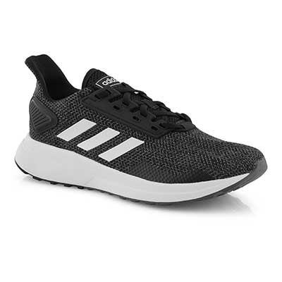 Lds Duramo 9 blk/wht running shoe