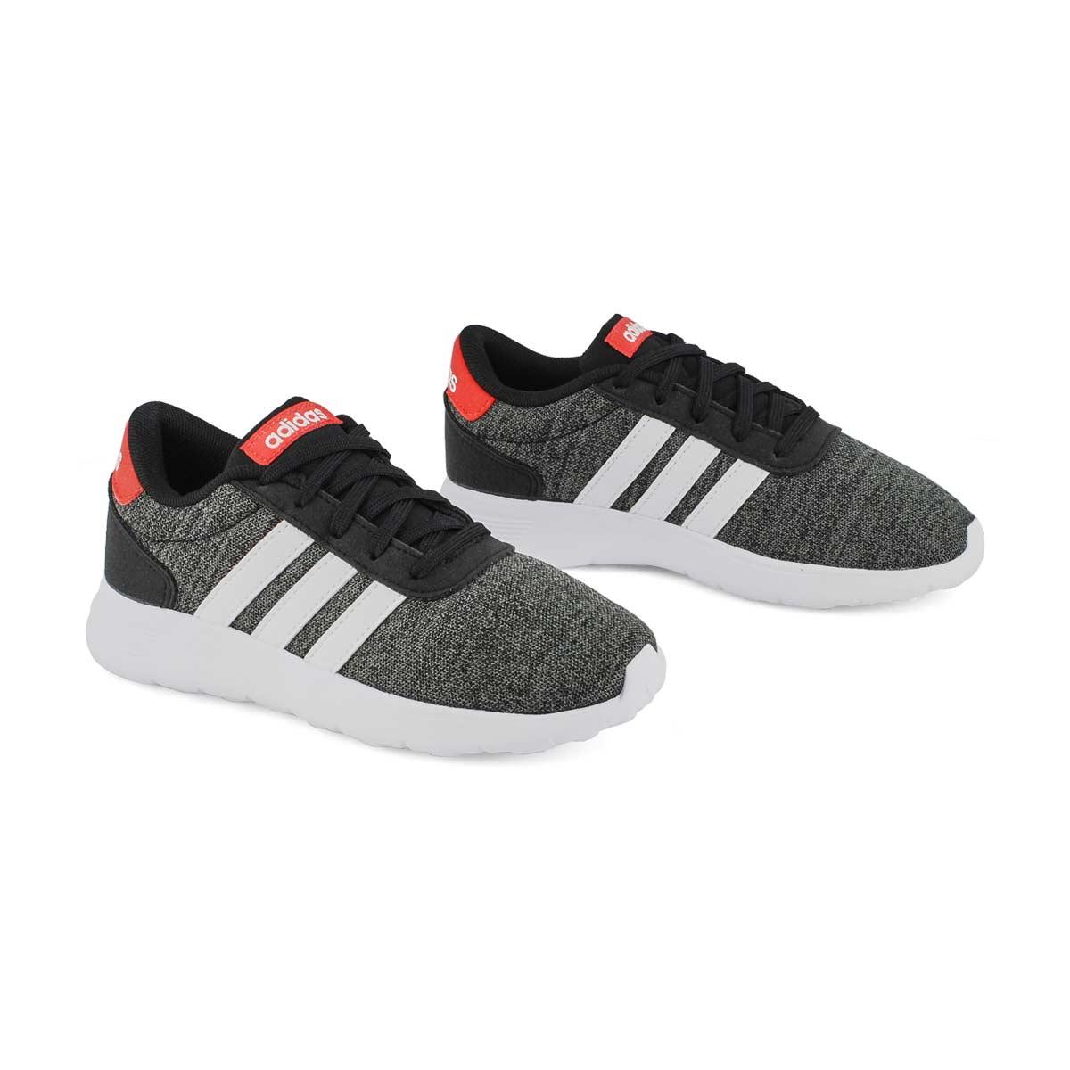 Kds Lite Racer K blk/wht running shoe