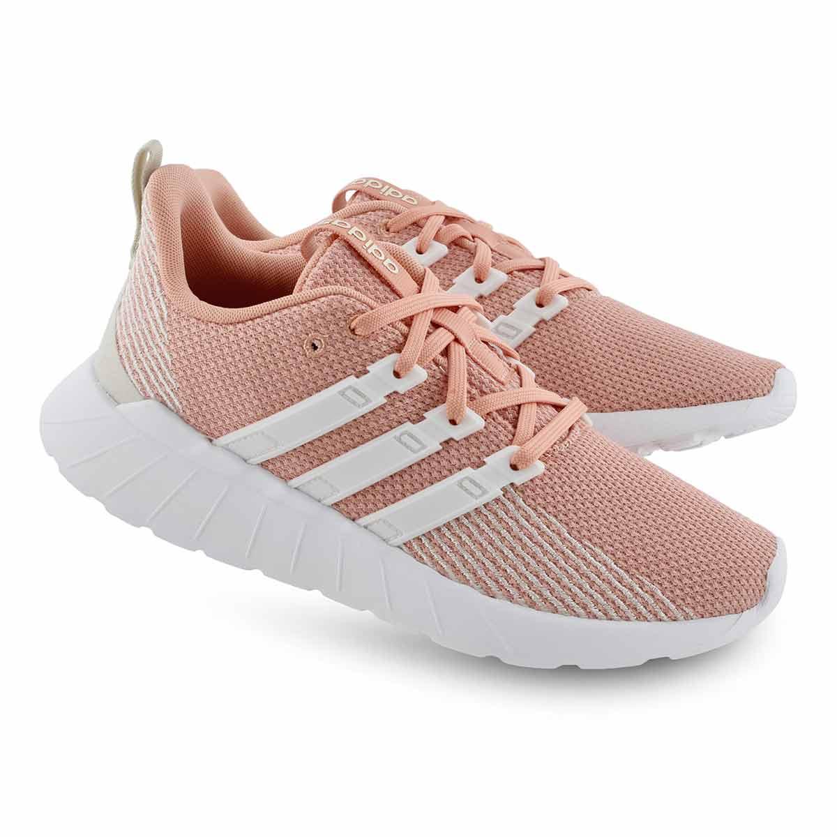 Lds Questar Flow pnk/wht running shoe