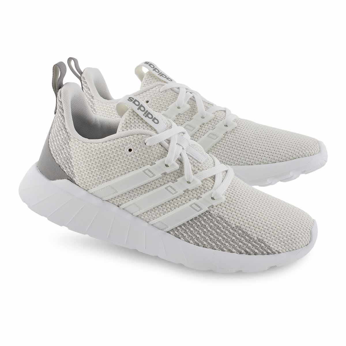Lds Questar Flow wht/wht running shoe