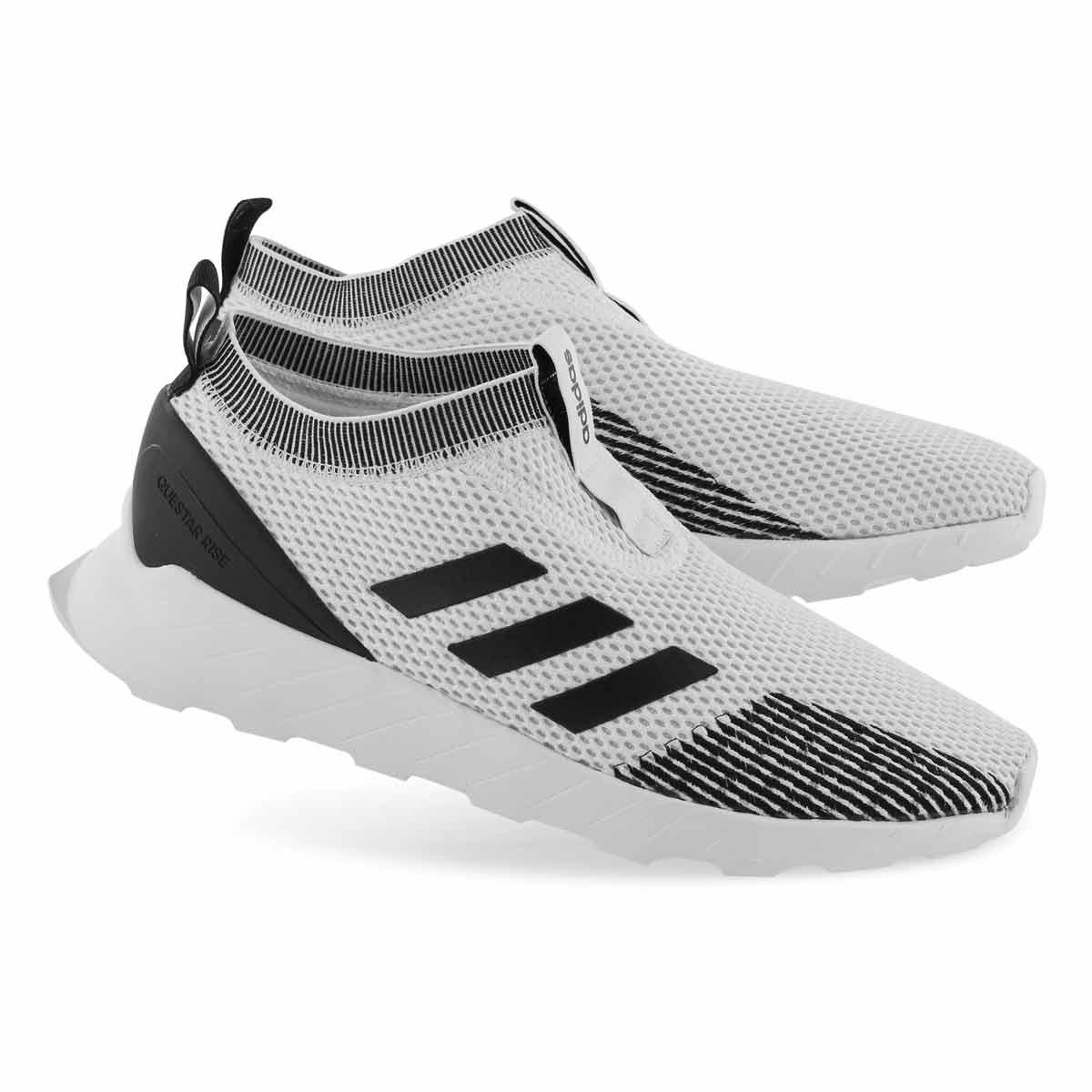 Mns Questar Rise Sock wht/blk/gry runner