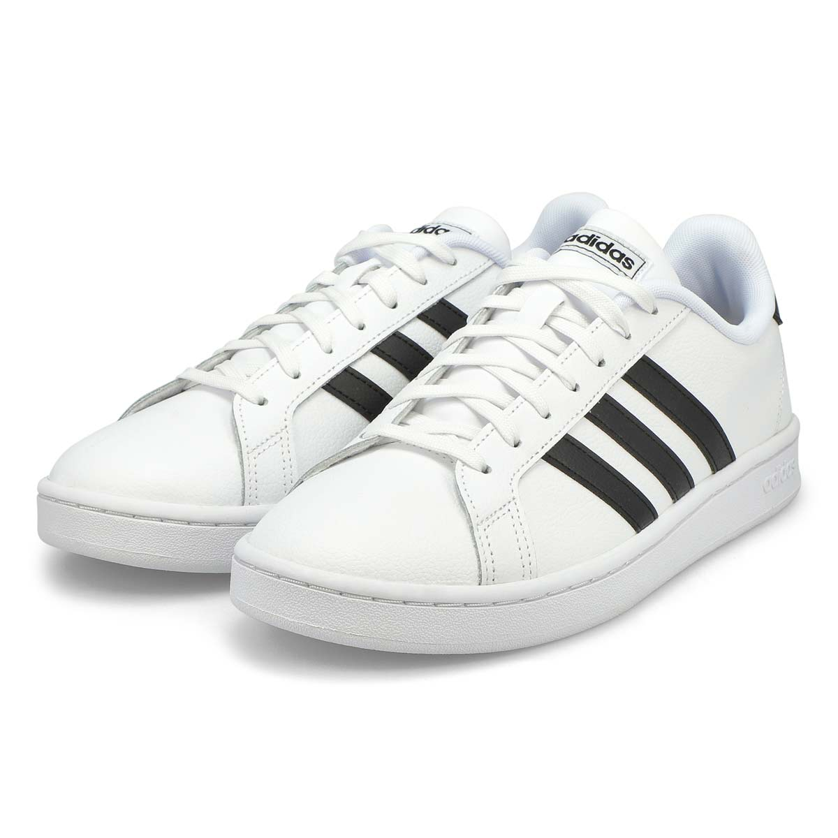 Mns Grand Court wht/blk sneaker