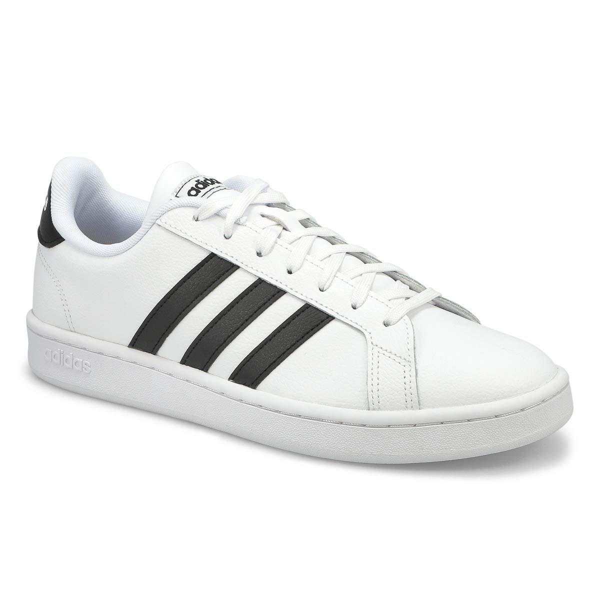 Men's GRAND COURT white/black sneakers
