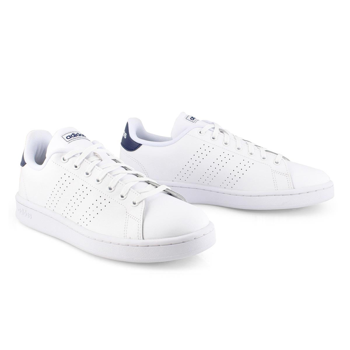 Mns Advantage wht/blu sneaker