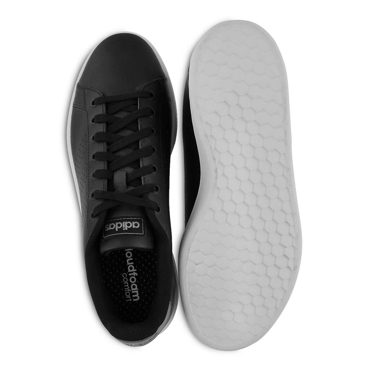 Mns Advantage blk/wht sneaker
