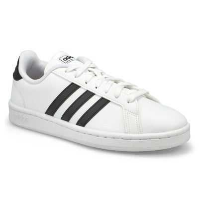 Lds Grand Court wht/blk sneaker