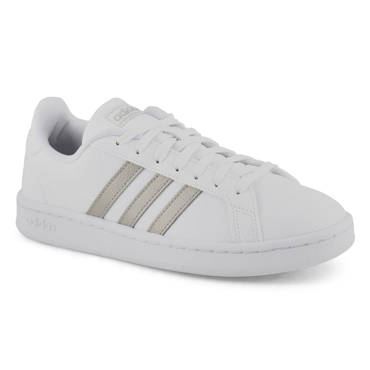 Women's GRAND COURT whiteplatinum sneakers
