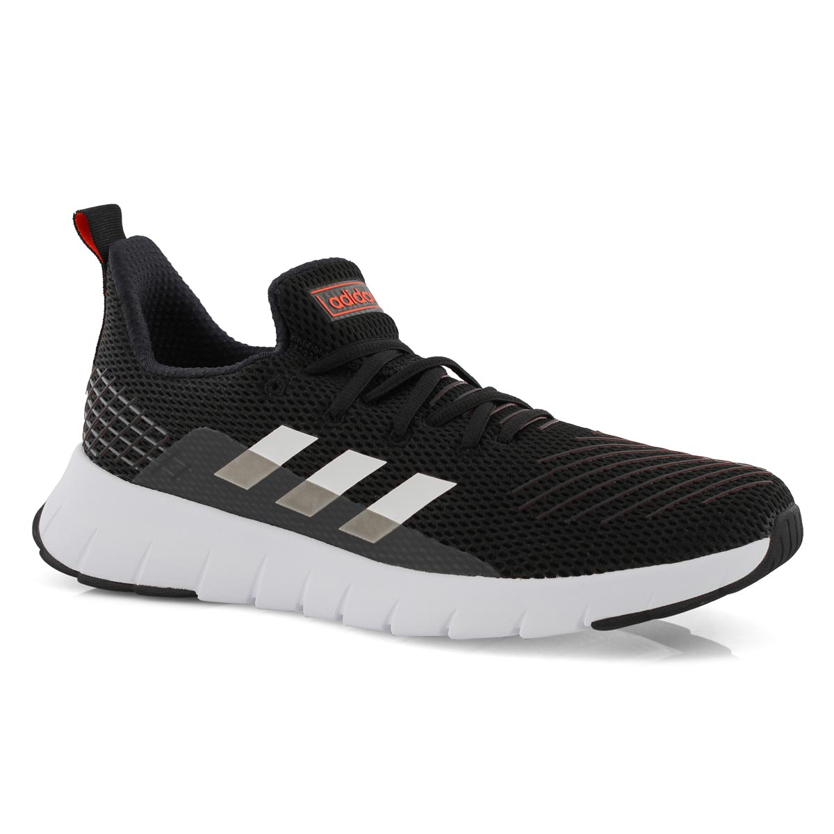 Mns Asweego Run blk/wht running shoe