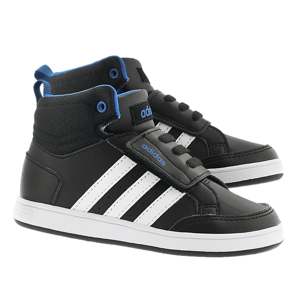 adidas infant 39 s hoops cmf mid high top sneaker ebay. Black Bedroom Furniture Sets. Home Design Ideas