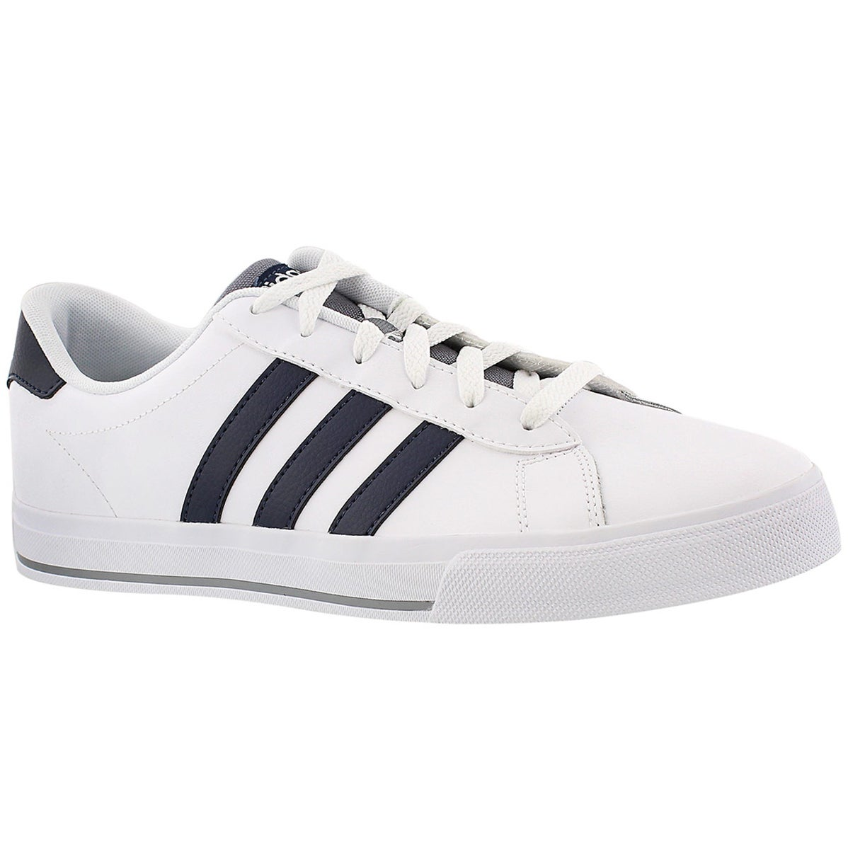 Mns Daily white/black lace up sneaker