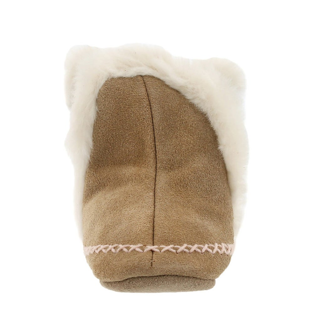 Inf Fab Folk Booties camel soft soles