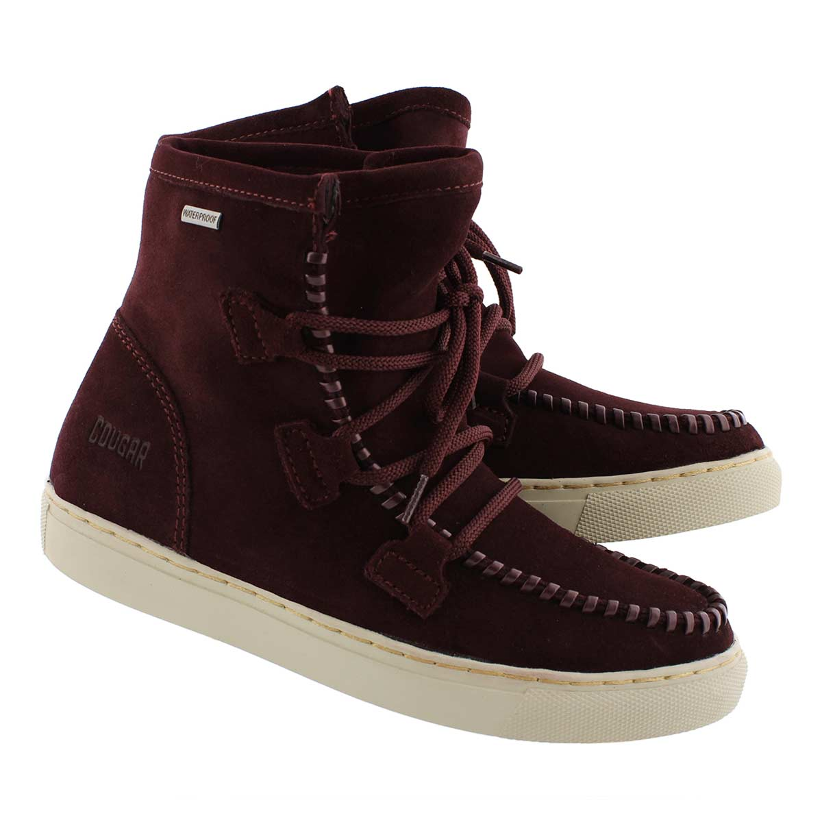 Lds Fabiola wine wtpf lace up ankle boot