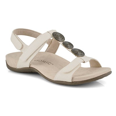Lds Farra cream arch support sandal