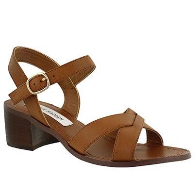 Lds Fatima cognac dress sandal