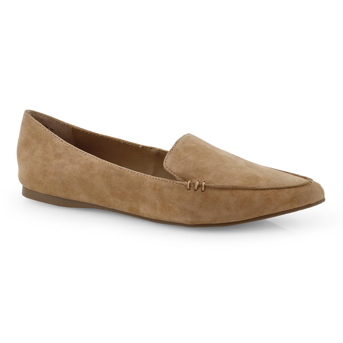 Lds Feather camel casual flat