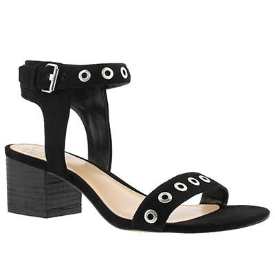 Lds Feya black dress sandal