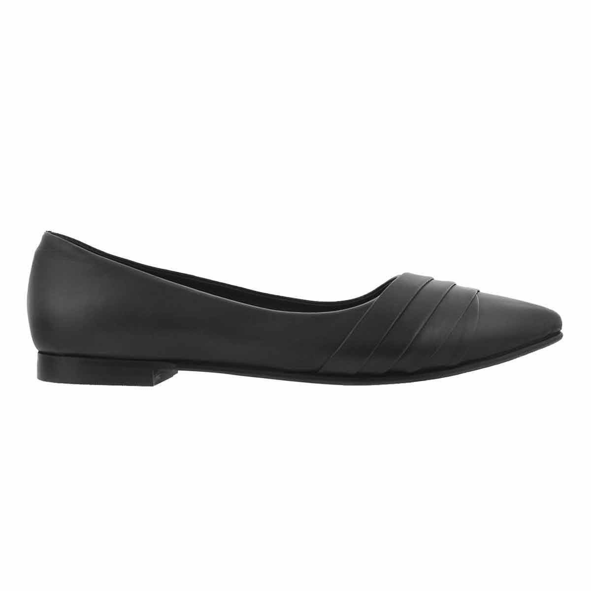 Lds Fiana black dress flat