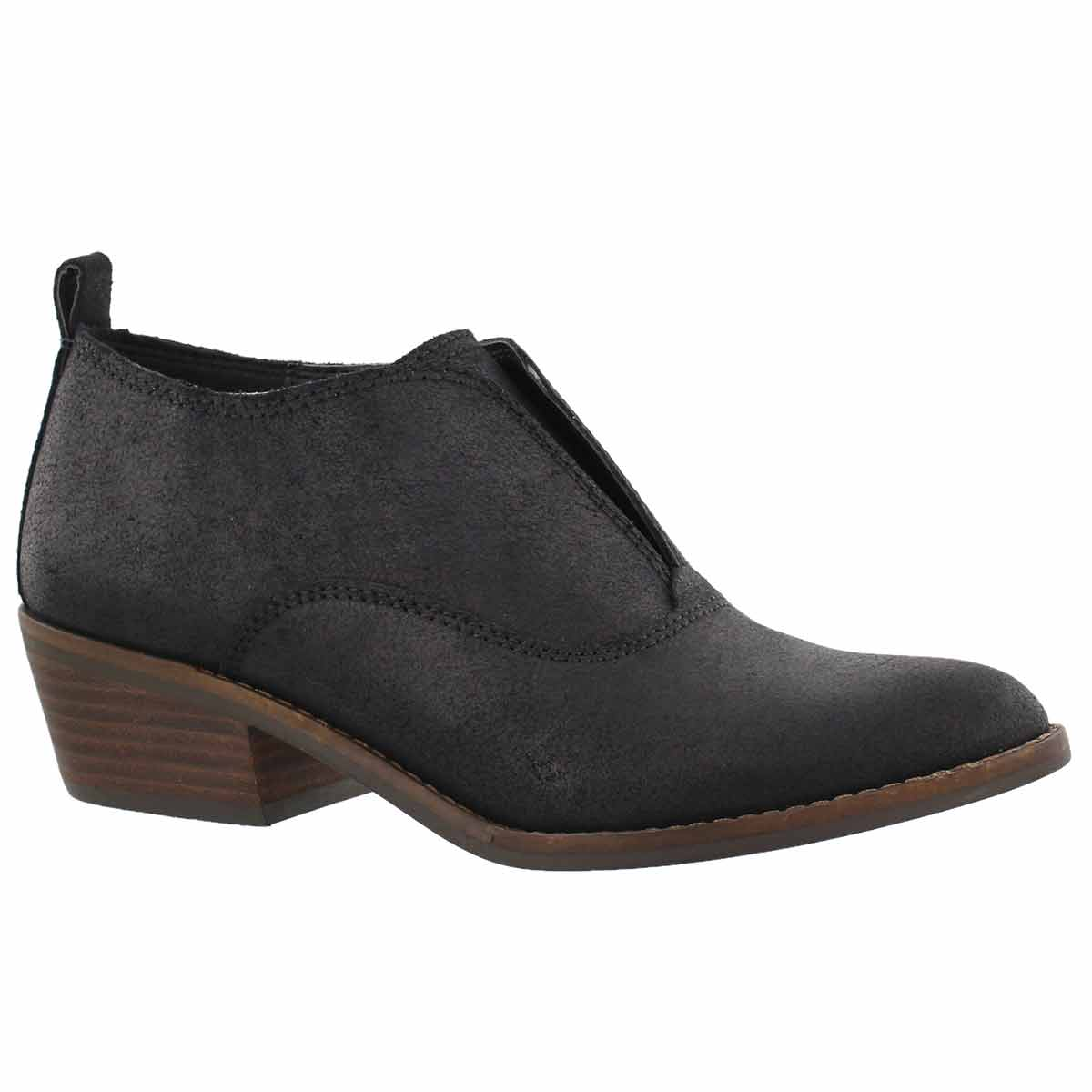 Women's FIMBERLY black low casual boots