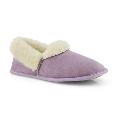 Lds Flapjack lvndr closed back slipper