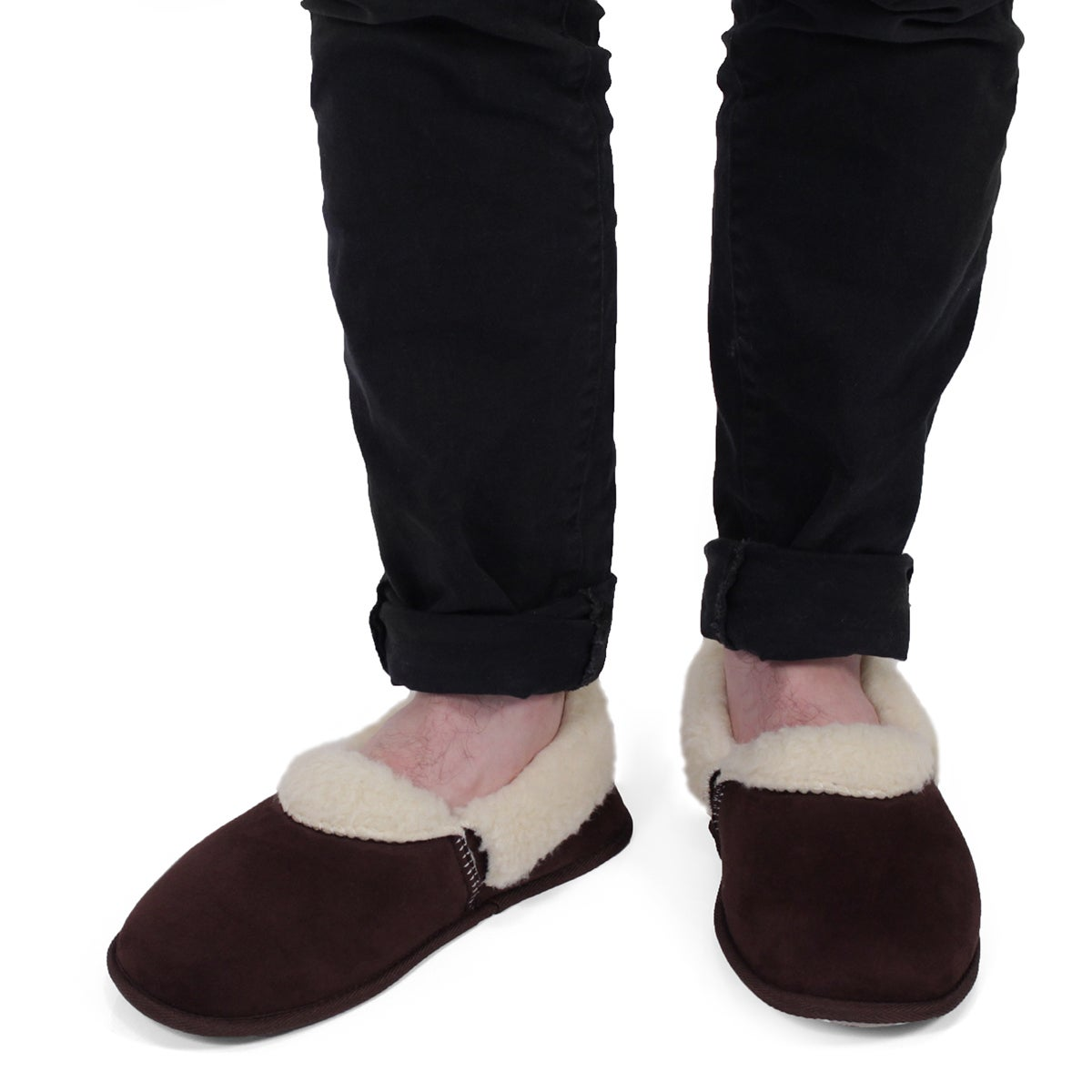 Mns Flapjack rtbr closed back slipper