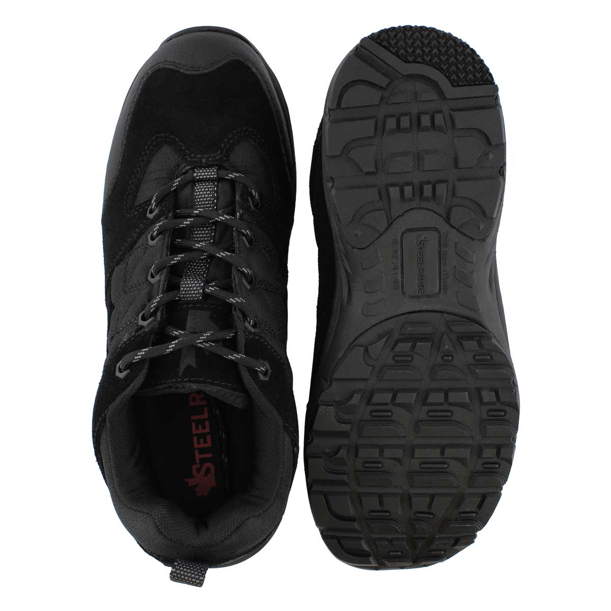 Mns Flash black lace up CSA safety shoe