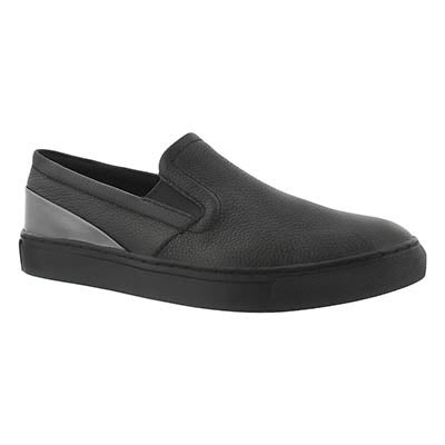 Lds Flip black waterproof slip on shoe