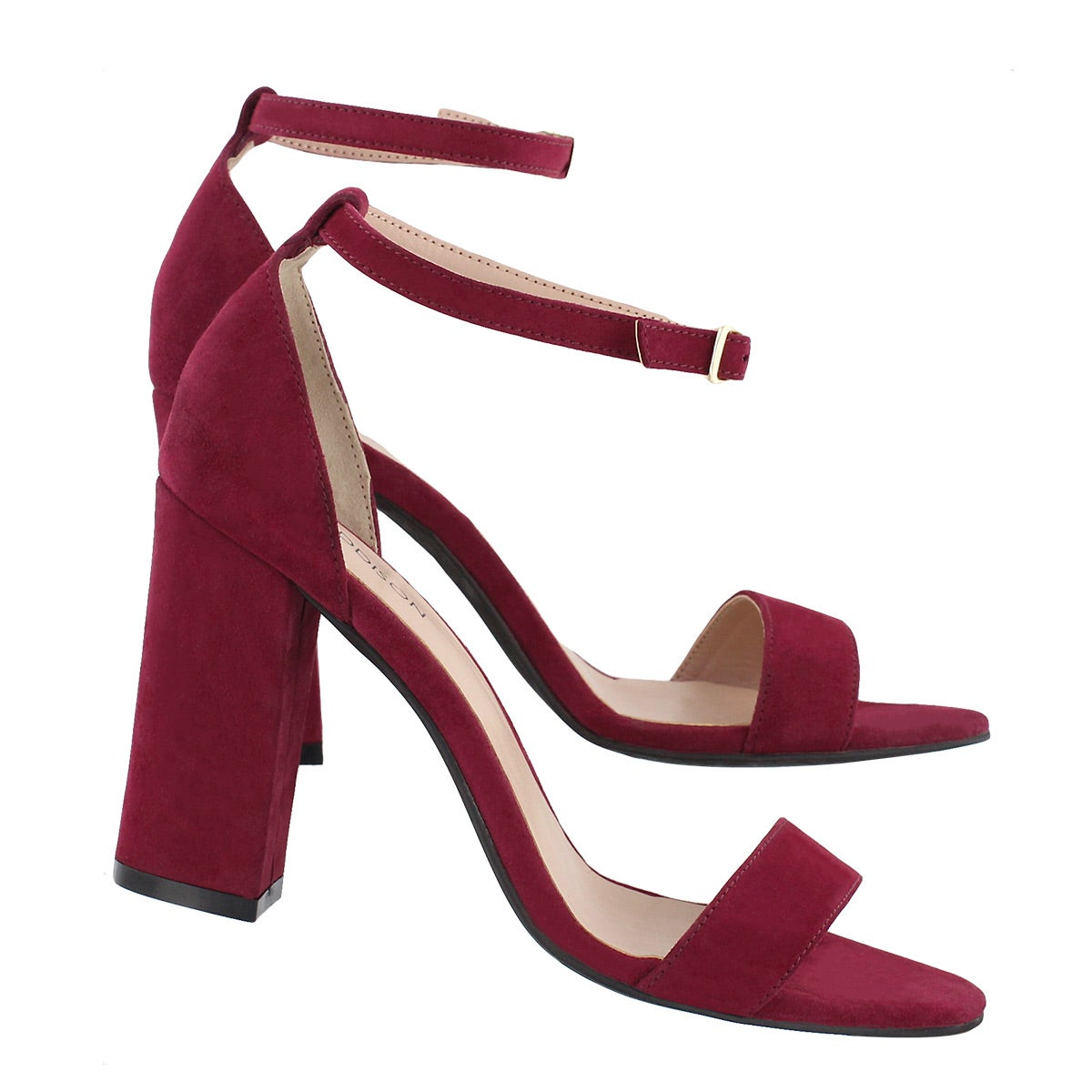 Lds Florette burgundy dress sandal