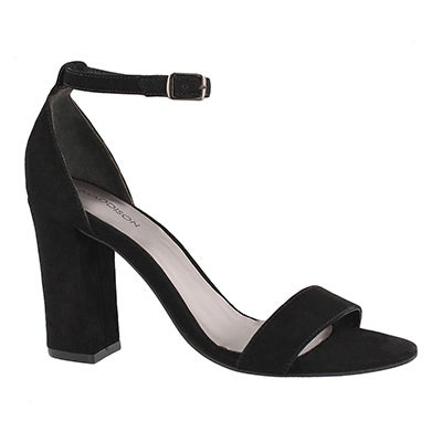 Lds Florette black dress sandal