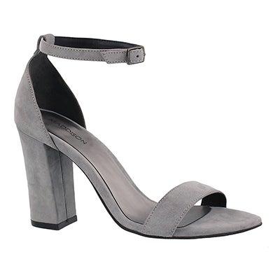 Lds Florette grey dress sandal