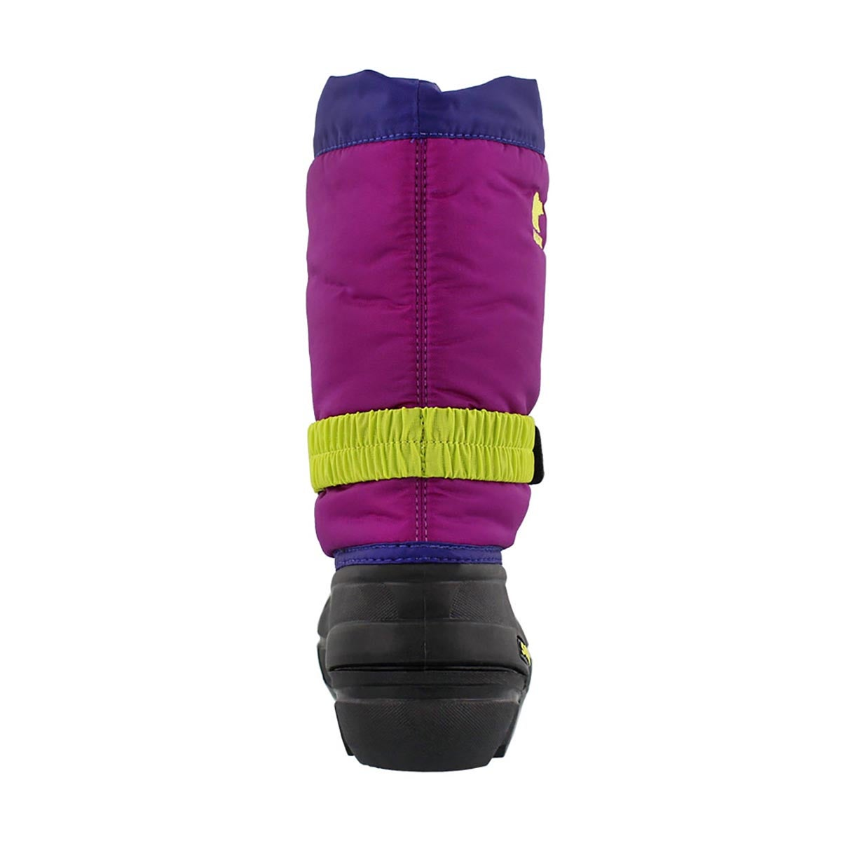 Grls Flurry grp/plum pullon winter boot