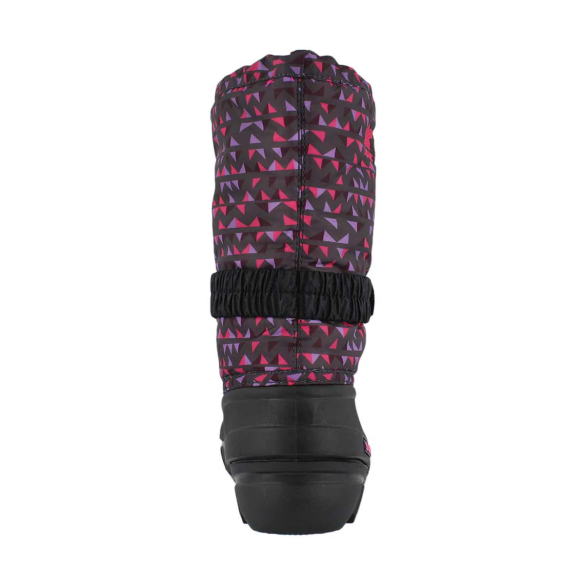 Grls Flurry Print gry/pnk winter boot