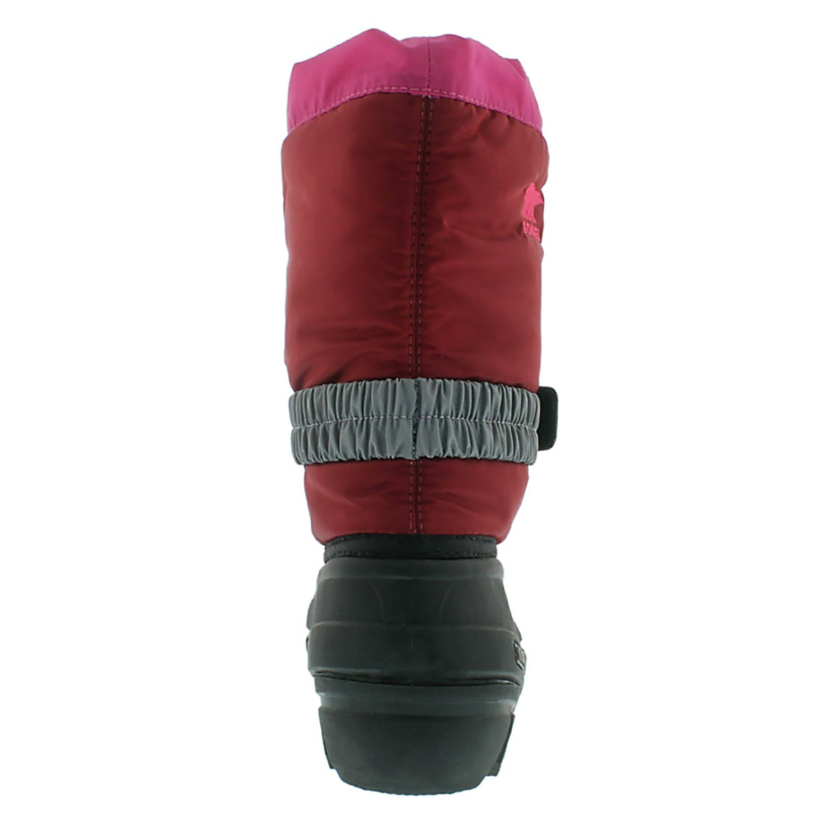 Grls FlurryTP red/gry pullon winter boot