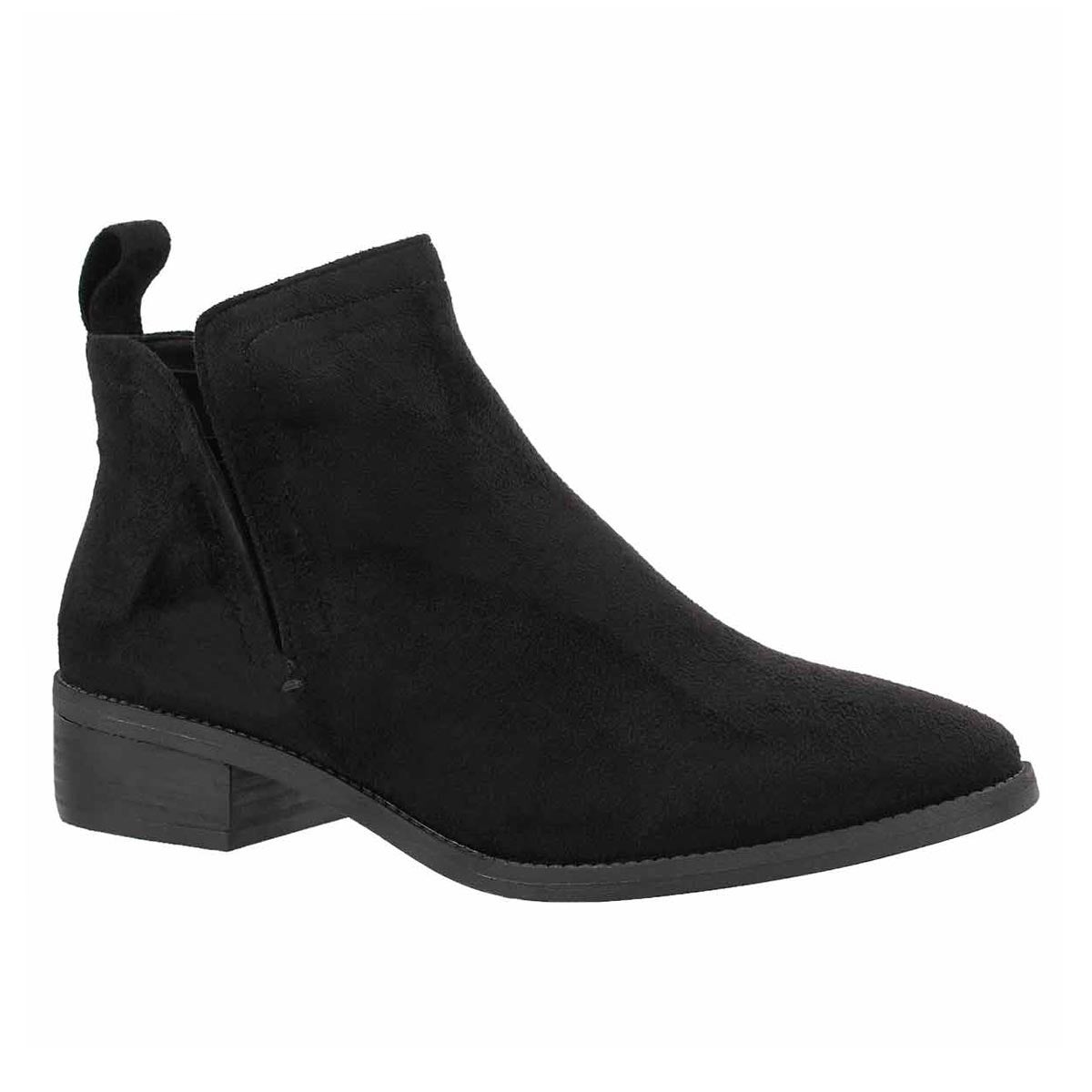 Lds Flutter black ankle boot