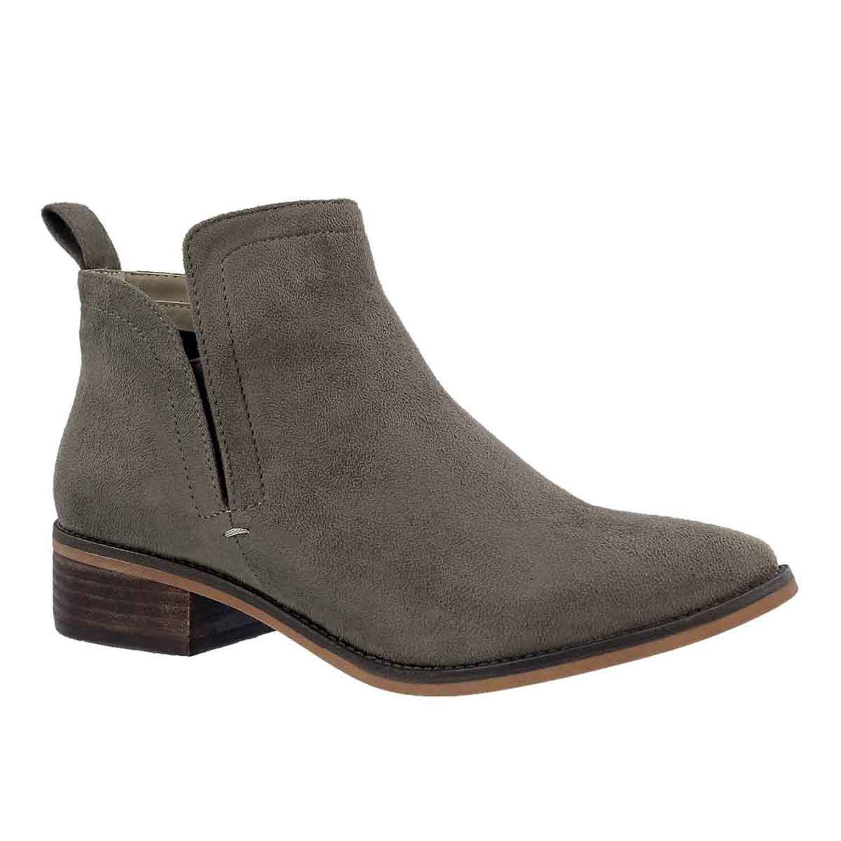 Women's FLUTTER taupe ankle boots