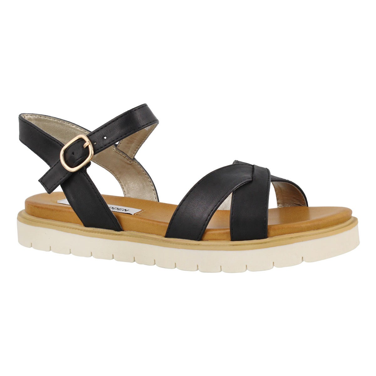 Women's FRANCOIS black casual sandals