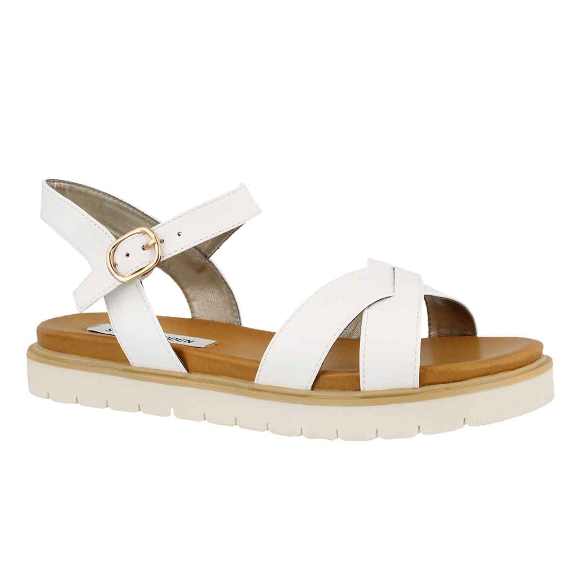 Women's FRANCOIS white casual sandals