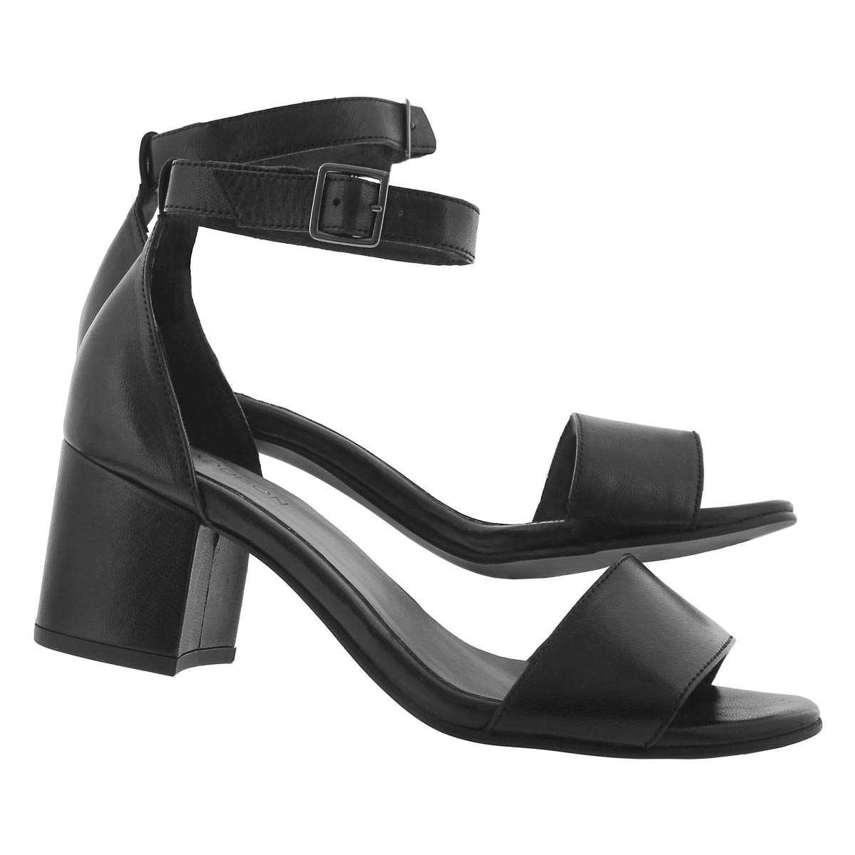 Lds Freda black dress sandal