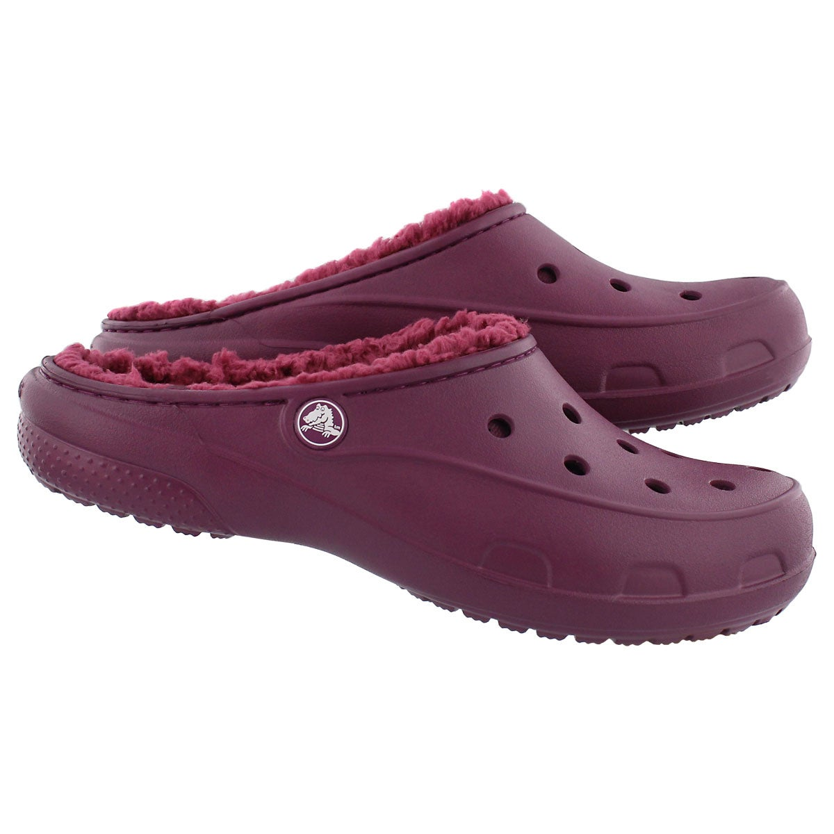 Lds Freesail Plushlined plum clog