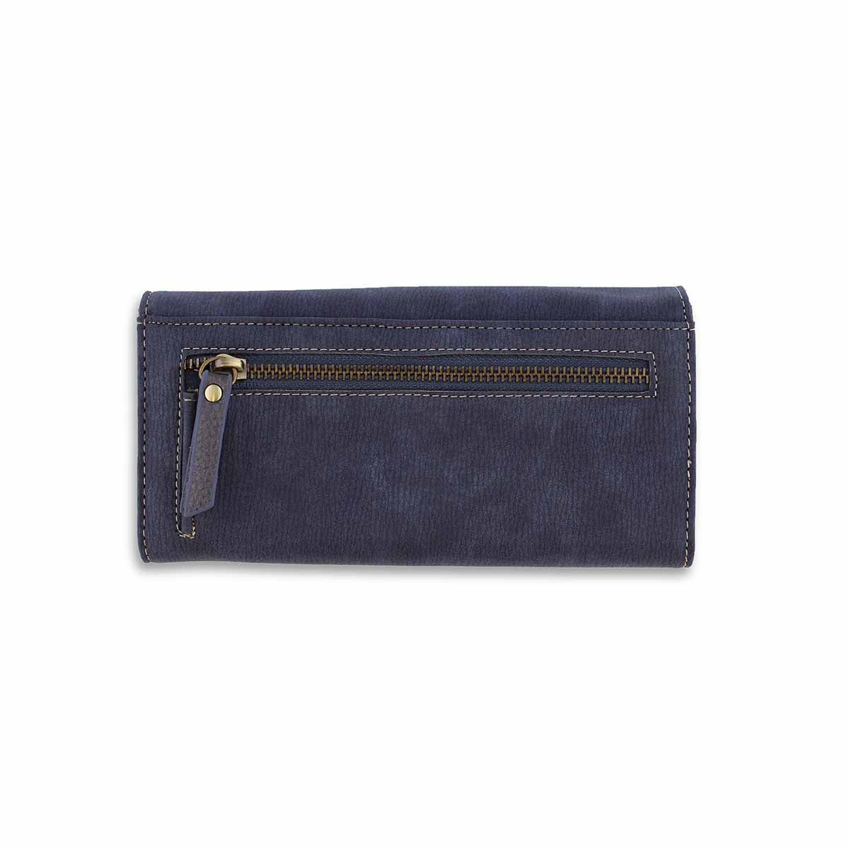 Lds Frost Collection navy deluxe clutch