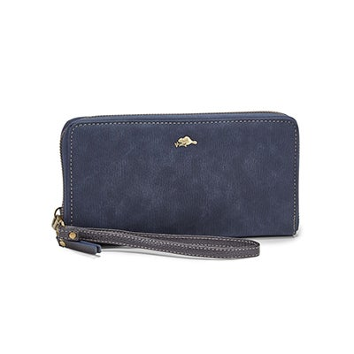 Lds Frost Collection navy wristlet