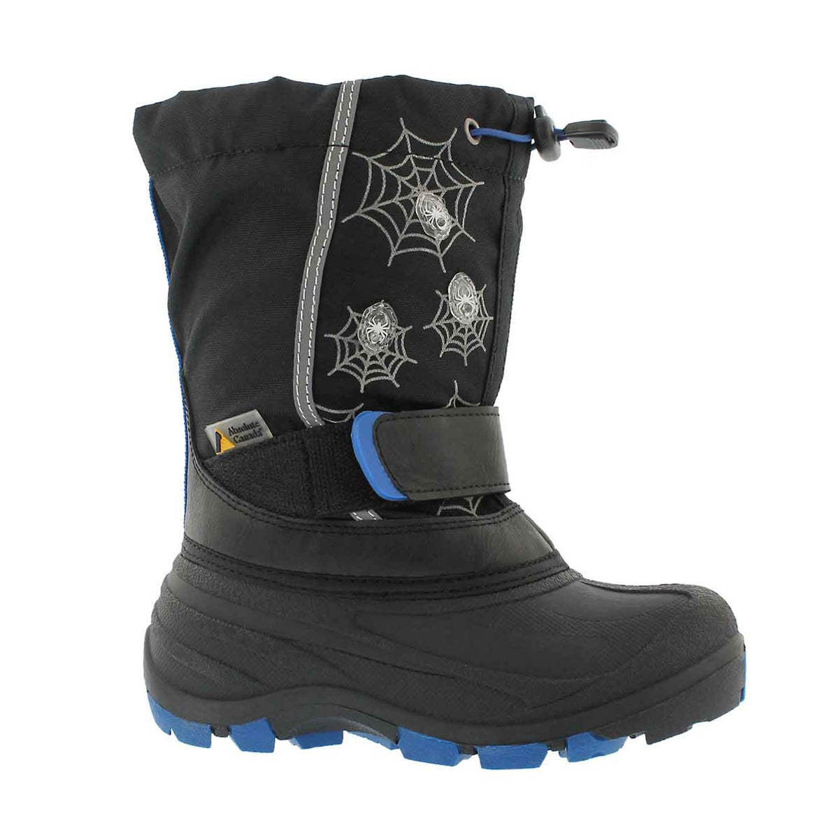 Boys' FROSTWEB blue wp light up winter boots