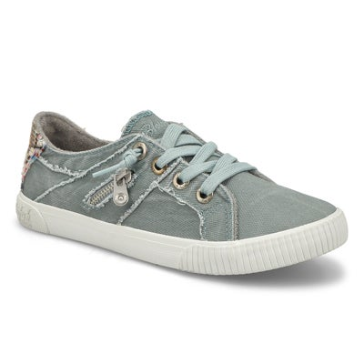 Lds Fruit dusty blue lace up fashion snk