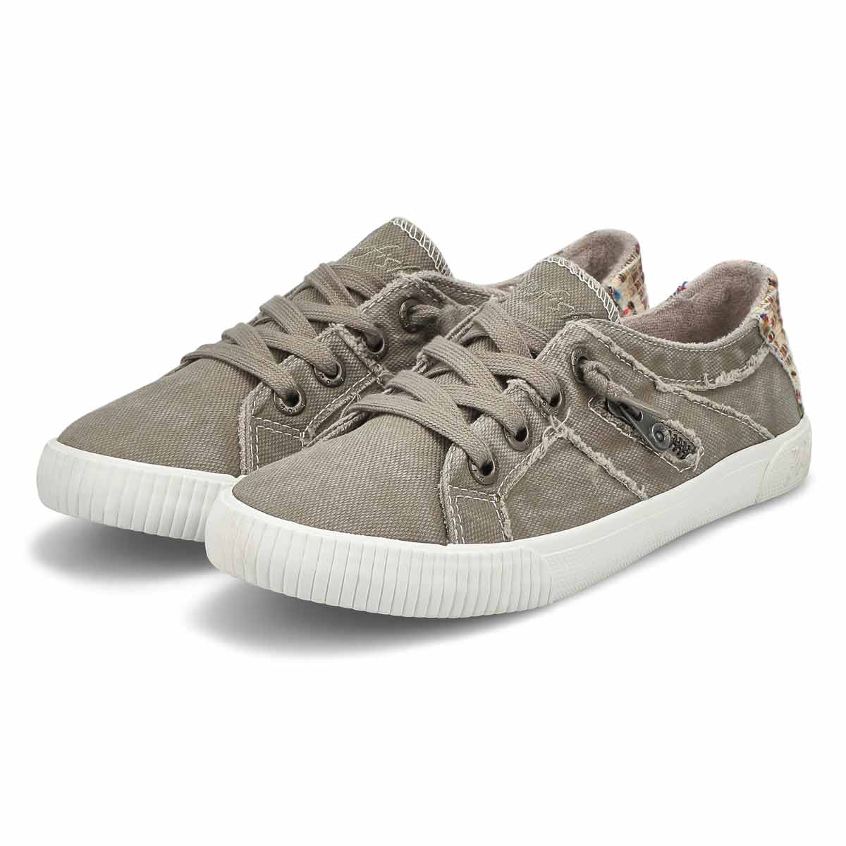Lds Fruit grey lace up fashion sneakers