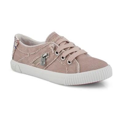Grls Fruit dirty pink fashion sneaker