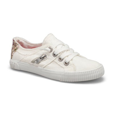 Grls Fruit white smoke fashion sneaker